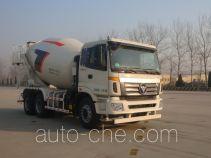 欧曼牌BJ5253GJB-XK型混凝土搅拌运输车