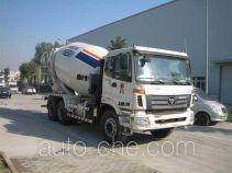 福田牌BJ5257GJB-XA型混凝土搅拌运输车