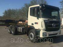 Foton Auman BJ5259GJB-AB concrete mixer truck chassis