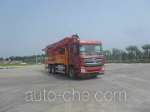 福田牌BJ5289THB-XC型混凝土泵车