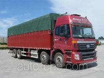 Foton Auman BJ5313CPY-XB soft top box van truck