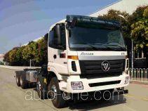 Foton Auman BJ5313GJB-AA concrete mixer truck chassis