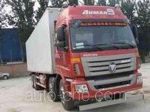 Foton Auman BJ5317XXY-XA box van truck