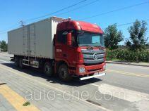 Foton Auman BJ5319XXY-XM box van truck