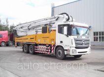 Foton BJ5339THB-XA concrete pump truck