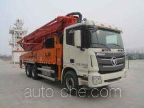 福田牌BJ5339THB-XC型混凝土泵车