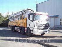 福田牌BJ5439THB-XA型混凝土泵车
