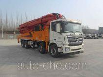 福田牌BJ5449THB-XC型混凝土泵车
