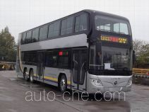 Foton BJ6128SHEVCA-1 hybrid double decker city bus