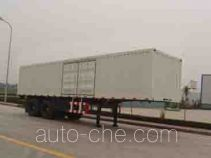 Foton BJ9231N7X7H box body van trailer