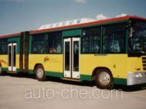 京华牌BK6141CNG型铰接式城市客车