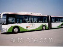 京华牌BK6180CNGA型铰接式城市客车