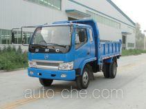 奔马牌BM5815PDF3E型自卸低速货车