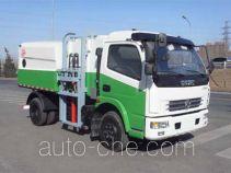 亚洁牌BQJ5080ZZZE型自装卸挤压式垃圾车