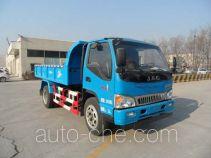 亚洁牌BQJ5100ZLJH型自卸式垃圾车
