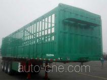 霸申特牌BST9402CCY型仓栅式运输半挂车