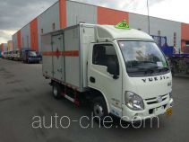 Zhongyan BSZ5039XRQC5 flammable gas transport van truck