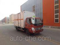 Zhongyan BSZ5040TQPCX gas cylinder transport truck