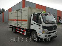 Zhongyan BSZ5083XRQC5 flammable gas transport van truck