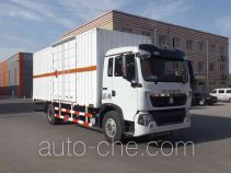 Zhongyan BSZ5160XRQC52 flammable gas transport van truck