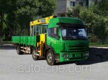 中燕牌BSZ5250JSQ型随车起重运输车