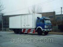 Zhongyan BSZ5250XXY box van truck
