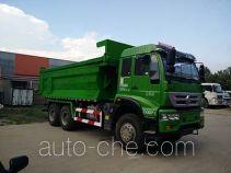 Zhongyan BSZ5254ZLJC4T138 dump garbage truck