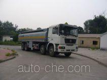 Zhongyan BSZ5312GHYC3T445 chemical liquid tank truck