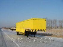 Emergency power supply trailer