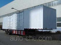 Weiteng BWG9301XXY box body van trailer