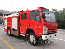 银河牌BX5100GXFPM36/W4型泡沫消防车