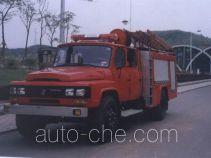Jinpeng BX5100GXFSG35ZD fire tank truck