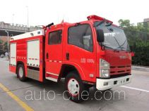 Yinhe BX5100GXFSG36/W4 fire tank truck