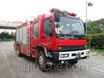 银河牌BX5120TXFJY162/W4型抢险救援消防车