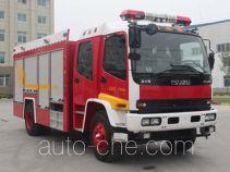 Yinhe BX5130TXFHX30W chemical decontamination fire engine