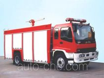 Yinhe BX5140TXFFE34 dry carbon dioxide combined fire engine