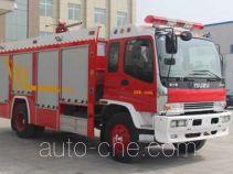 Yinhe BX5140TXFFE34B dry powder carbon dioxide fire engine