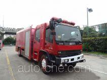 银河牌BX5140TXFGQ80/W4型供气消防车
