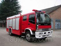 银河牌BX5160GXFAP60W型A类泡沫消防车