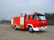 Yinhe BX5160GXFSG50S1 fire tank truck