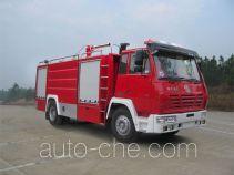Yinhe BX5160GXFSG55S1 fire tank truck