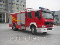 Yinhe BX5190GXFSG80HW fire tank truck