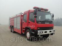 银河牌BX5240GXFPM110/W4型泡沫消防车
