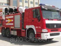 银河牌BX5240TXFPY139HW型排烟消防车
