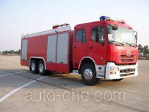 Yinhe BX5280GXFSG120UD fire tank truck