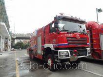 银河牌BX5290GXFPM40/WP5S型泡沫消防车