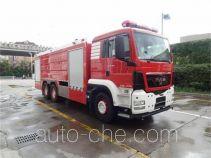 银河牌BX5320GXFPM160/M4型泡沫消防车