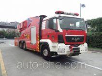 银河牌BX5320GXFPM40/WP7M型泡沫消防车