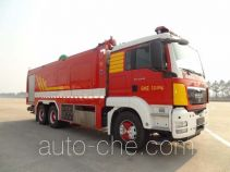 Yinhe BX5320GXFPM90/M foam fire engine