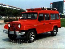 海潮牌BXF5030TXFBP20型泵浦消防车
